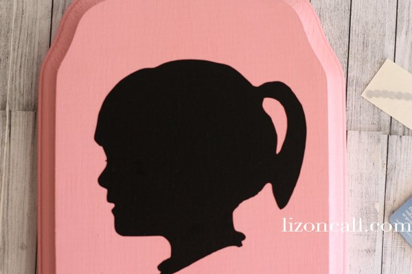 Vinyl Silhouette Jewelry Plaque 3