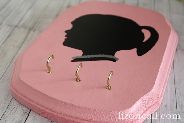 Vinyl Silhouette Jewelry Plaque 5