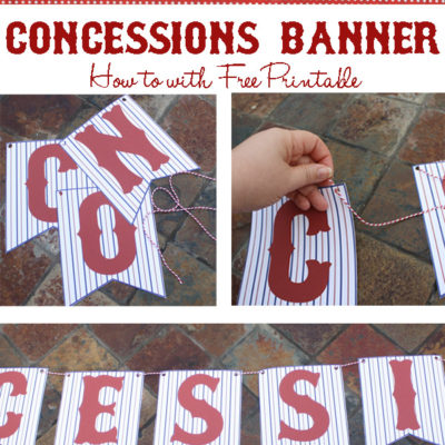 Free Concessions Printable Banner