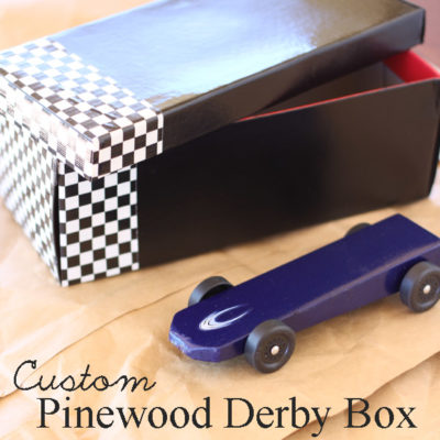 Pinewood Derby Box