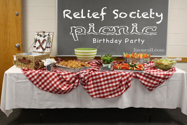Relief Society Picnic 1