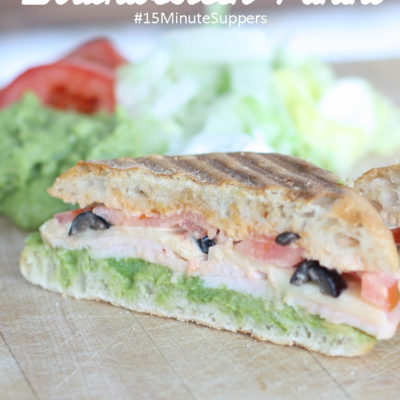 Southwestern Panini with Wholly Guacamole #15MinuteSuppers