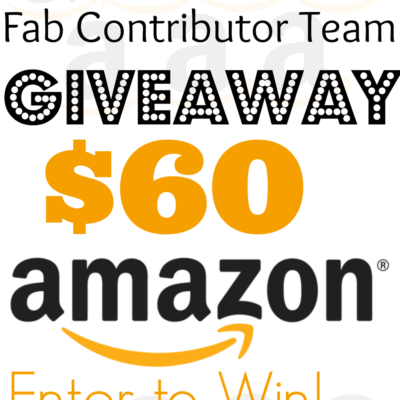 Crafty Spot Contributor Amazon Giveaway