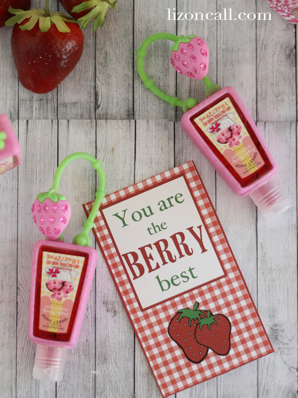 """berry"" best gift tags for #teacher #gift #printable"