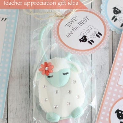 """Ewe"" are the Best Printable tags for Teacher Appreciation"