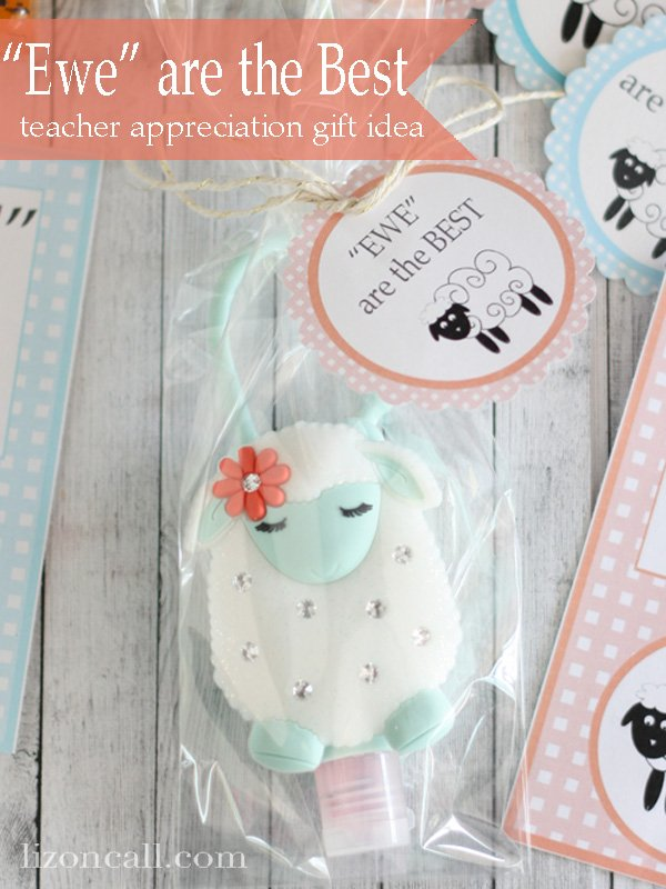 You are the best. #teacherappreciation #gifts
