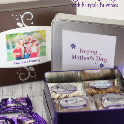 Mother's Day Gift with Fairytale Brownies