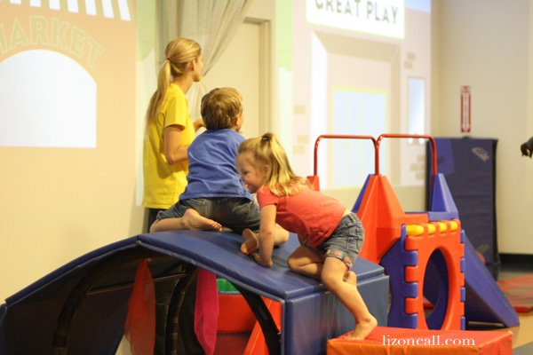 sign up kids for an indoor gym to help keep them busy this summer