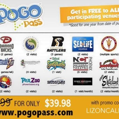 Family Fun in Phoenix AZ with the POGO Pass