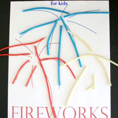 4th of July Edible Activity for kids