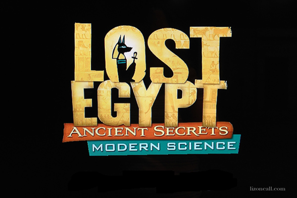 Lost Egypt exhibit at the AZ Science Center