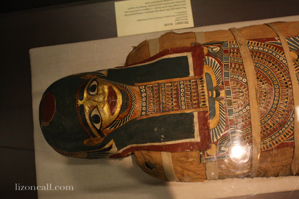 Lost Egypt exhibit at the AZ Science Center - see a mummy