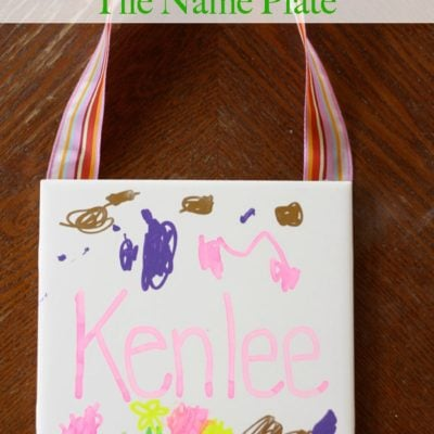 15 Minute Tile Name Plate