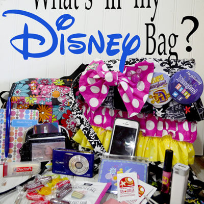 What's in my Disney Bag – Guest Post