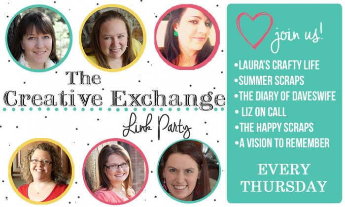 Link up with the Creative Exchange Link Party every Thursday