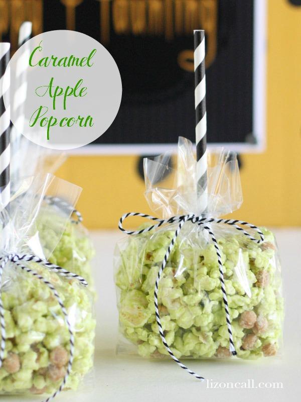 Caramel Apple Popcorn - Liz on Call