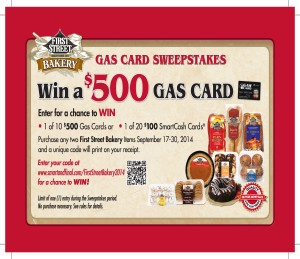 Smart & Final Sweepstakes 9/17/14 to 9/30/14