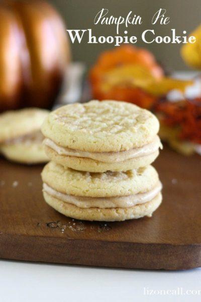 Pumpkin Pie Whoopie Cookies with Smart & Final