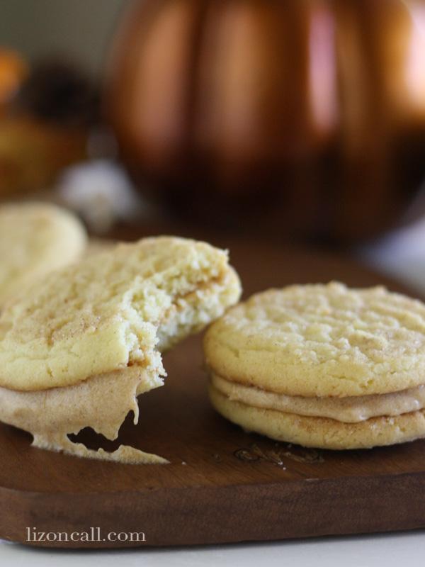 Pumpkin Pie whoopie cookies #PumpkinPie #choosesmart #shop