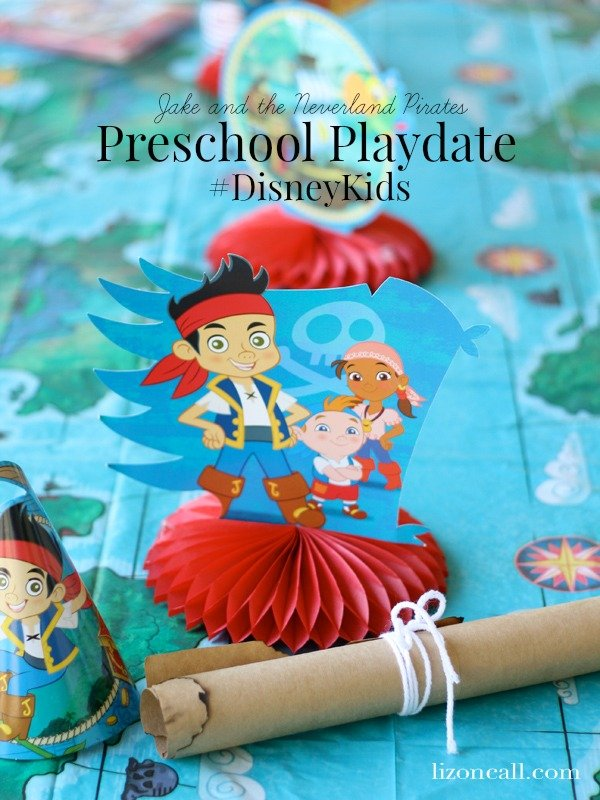 Jake and the Neverland Pirates Preschool Playdate #DisneyKids