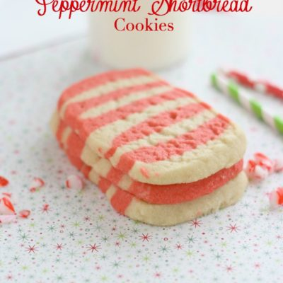 Peppermint Shortbread Cookies – Cookie Exchange Hop