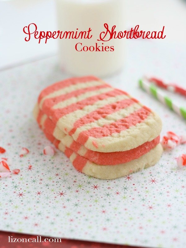 Peppermint Shortbread Christmas Cookies - Cookie Swap