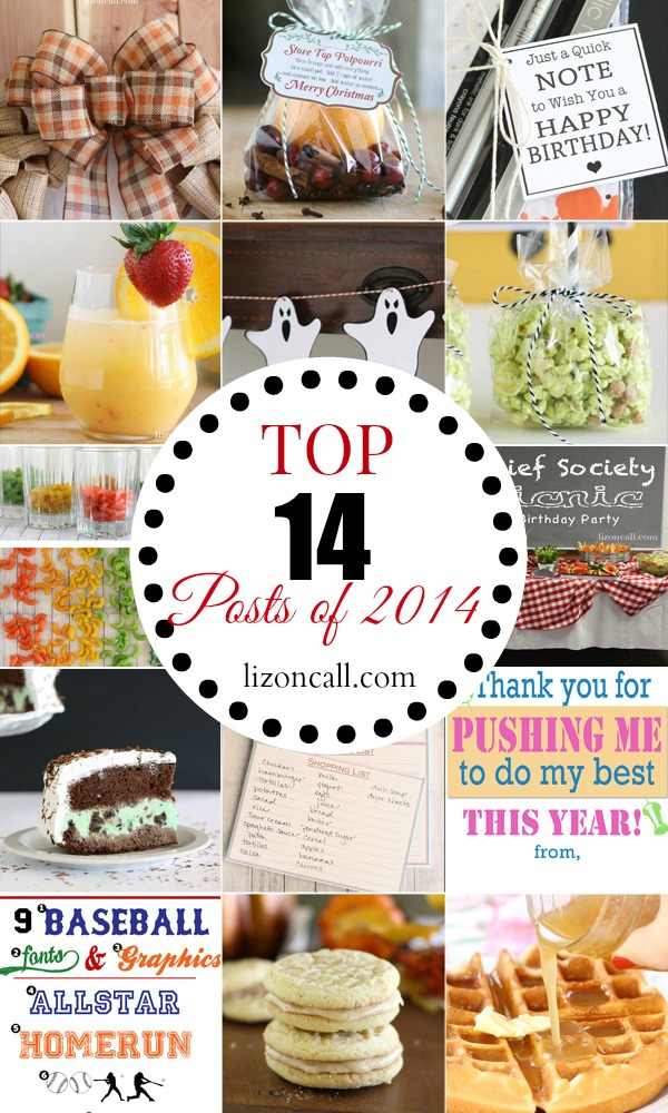 The top 14 posts of 2014 at lizoncall.com