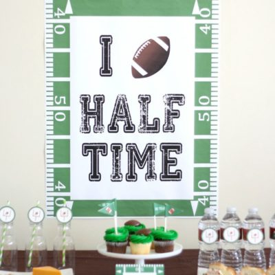 I Love Halftime Free Super Bowl Printable