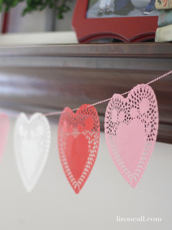 Valentines Mantel 5