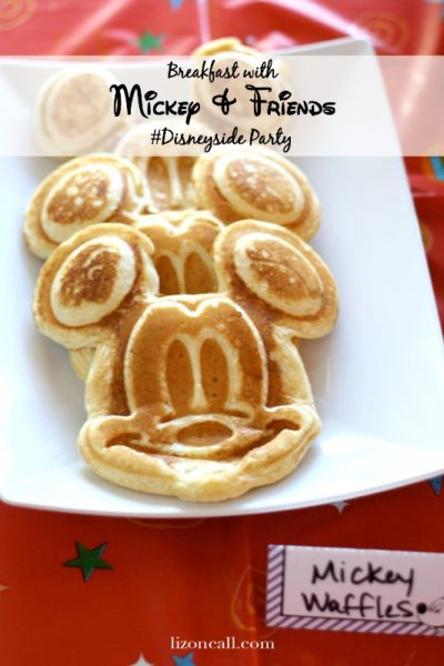 Breakfast with Mickey and Friends #Disneyside Party