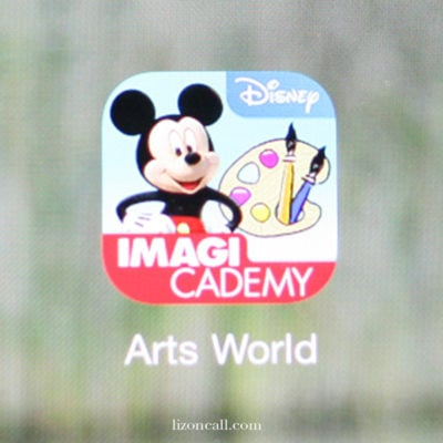 Disney Imagicademy Arts World App