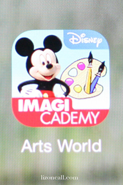 Disney Imagicademy Arts World App
