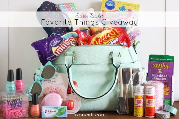 Easter Basket Favorite Things Giveaway ($100 value prize) - lizoncall.com