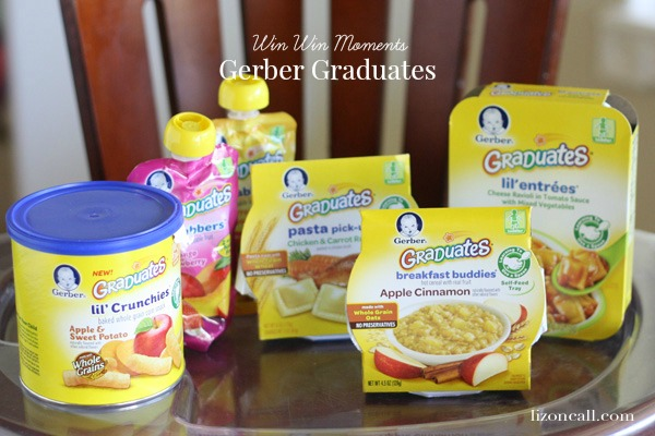Gerber graduates make meal time with my toddler a win win moment