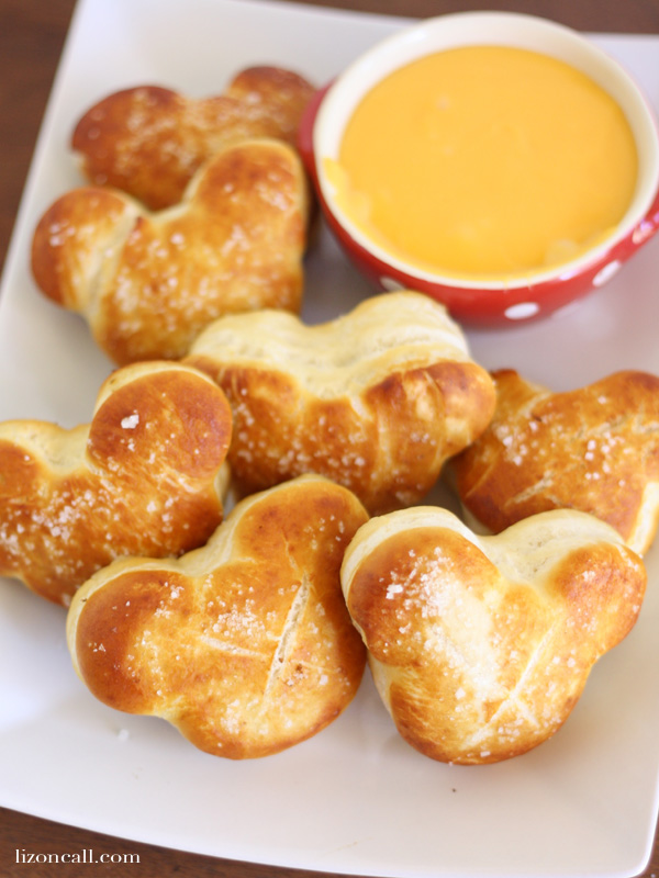 You don't have to go to Disney to enjoy a Mickey Mouse soft pretzel