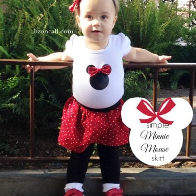 Simple Minnie Mouse Skirt