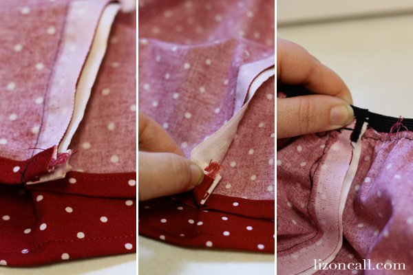 Simple minnie mouse skirt tutorial