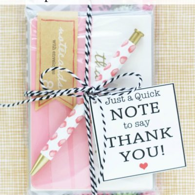 Simple Thank You Gift Idea