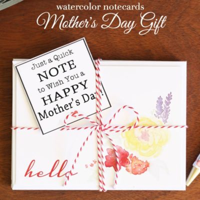 Quick Note Mother's Day Gift