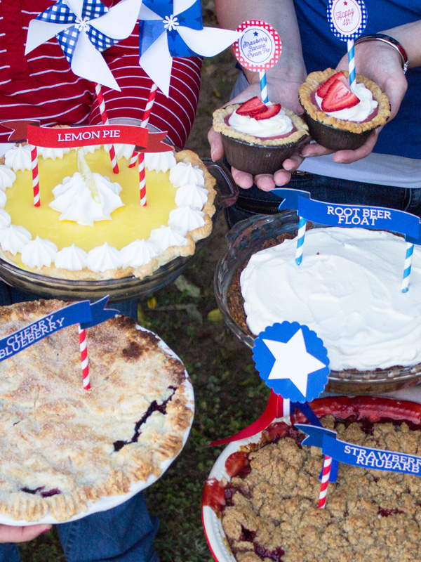 Classic 4th of July party Food and decor ideas for hosting a fun 4th of July party.
