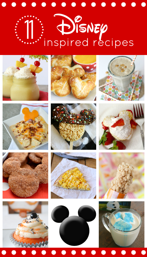 Disney Inspired recipes