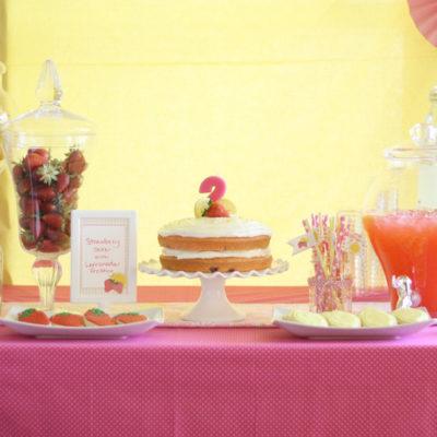 Strawberry Lemonade Birthday Party