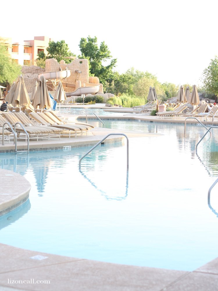 The Sheraton Wild Horse Pass in Chandler AZ is a great get away or staycation.  It has beautiful views, 4 star restaurants and summer activities for the kids.