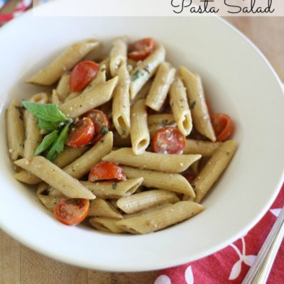 Red, White & Blue Cheese Pasta Salad