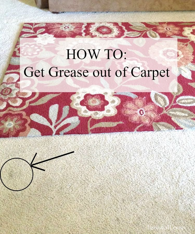 How to get grease out of carpet and keep carpets fresh