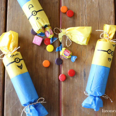 DIY Minion Party Poppers