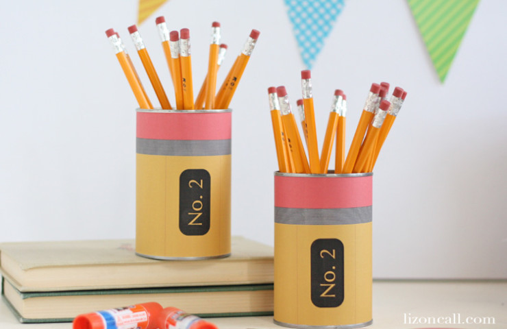 Back to School Teacher Gift – Pencil Holder