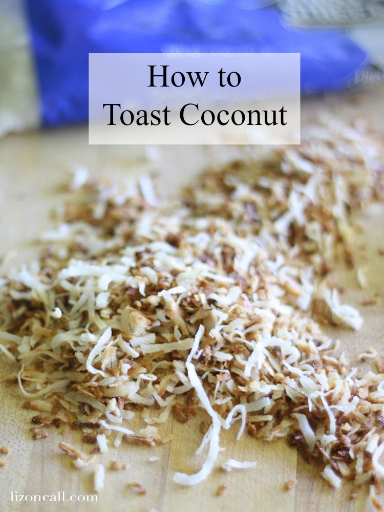 How to toast coconut -super simple only takes 10 minutes