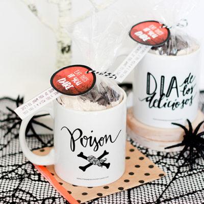 Halloween Mug Cake Gift Idea