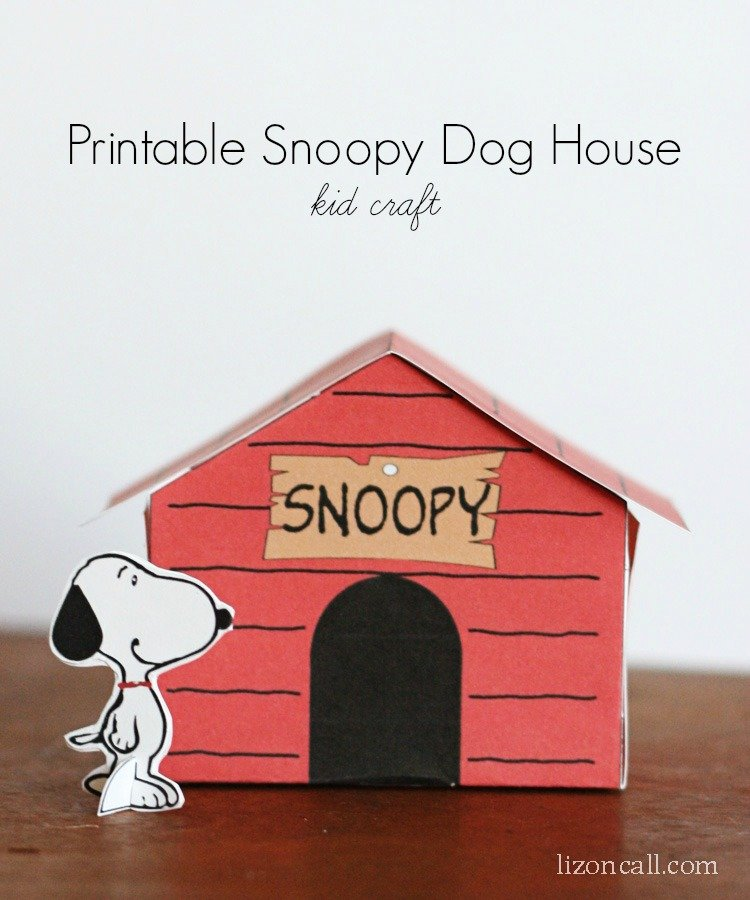 How To Make Snoopy Dog House